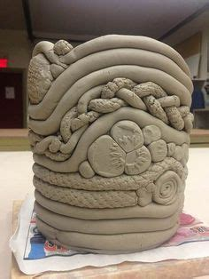 ceramic pots for seaman high school ceramic 2 student coil built vase 5189
