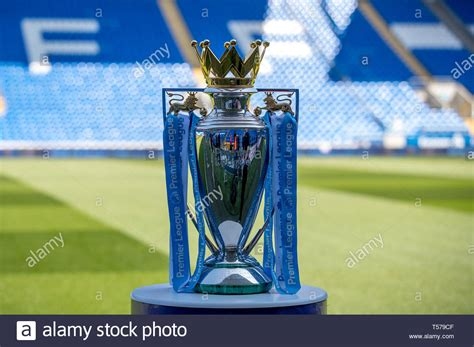 Premier League Trophy High Resolution Stock Photography ...