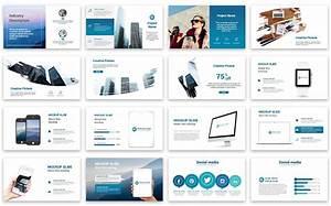Business Graph Presentation PowerPoint Template #67383