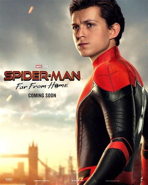spider man   home posters reveal  main characters
