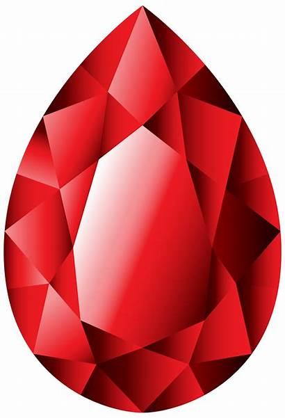 Clipart Gems Garnet Gem Ruby Transparent Diamond