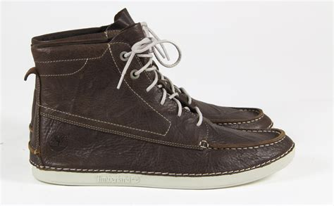 Mens Timberland Casual Leather Lace Up Chlesea Ankle Boots