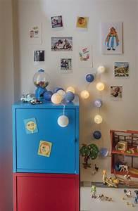 Guirlande Pour Chambre : chambre d 39 enfant la petite case de cousin paul plumetis magazine ~ Teatrodelosmanantiales.com Idées de Décoration