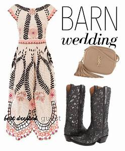53 best country chic attire images on pinterest barn With barn wedding dresses for guests