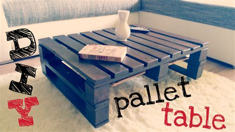 Diy  Pallet Coffee Table Doovi