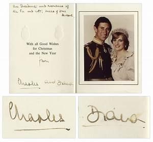 Lot Detail - Prince Charles & Princess Diana Signed ...