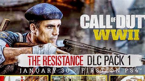 call  duty ww  resistance dlc trailer  ps