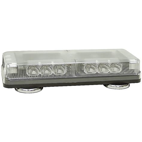 12 vdc 18 led 19 patterns low profile light bar dc