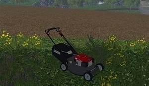 Fs17 Honda Push Mower Fixed V1 0  U2022 Farming Simulator 19