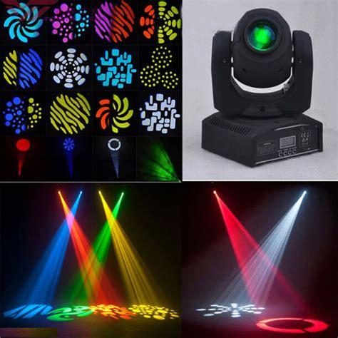 50w rgbw led stage lighting moving dmx dj disco light black ebay