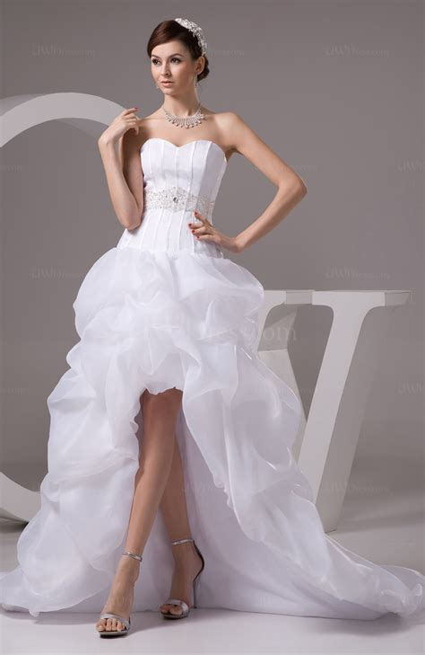 white allure bridal gowns inexpensive western knee length