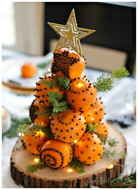 orange pomander balls  holiday tradition sweet lil