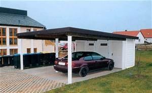 Doppelcarport 7 M Breit : einfache carports bestehen aus 4 pfosten und einem dach ~ Whattoseeinmadrid.com Haus und Dekorationen