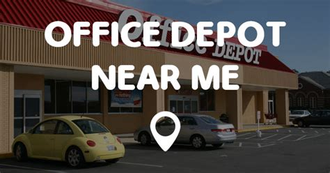 Office Depot Near Me Near Me office depot near me points near me