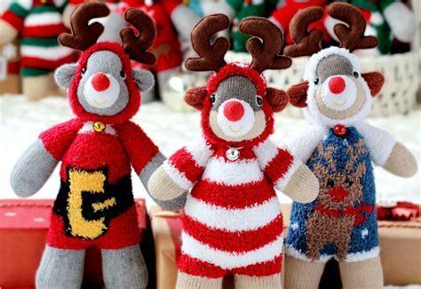 Sock Reindeer Stuffed Animal   AllFreeSewing.com