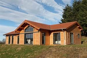 Prix Kit Maison Bois : diff rence prix maison ossature bois traditionnelle ~ Premium-room.com Idées de Décoration