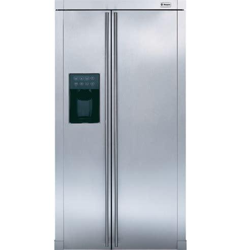 ge monogram  standing side  side refrigerator