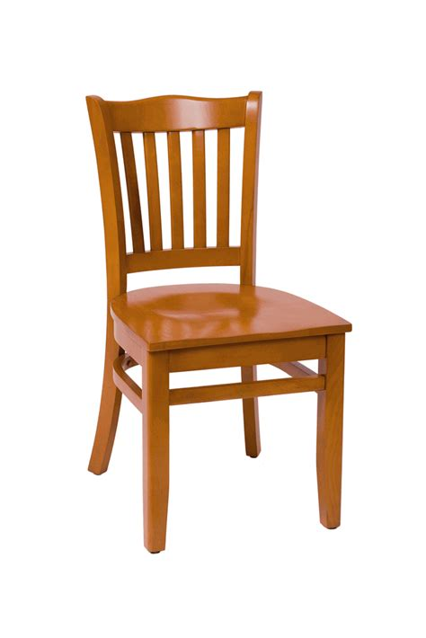 commercial wooden cathedral vertical back dining chair