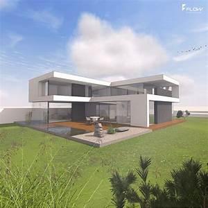 Moderne Häuser Mit Pool : moderne h user flachdach bildergalerie ideen ~ Markanthonyermac.com Haus und Dekorationen