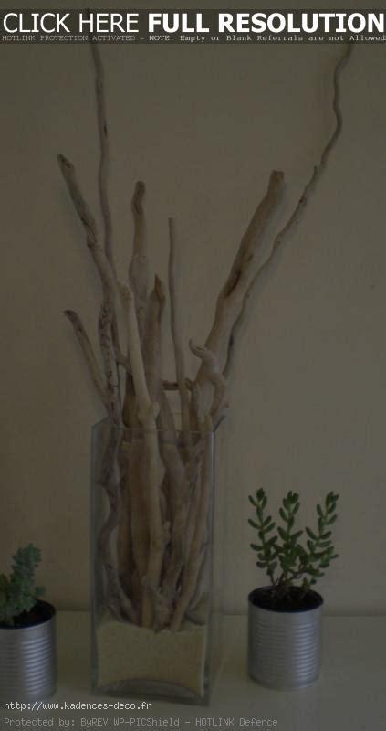 chambre avec ile de déco bois flotte jardin