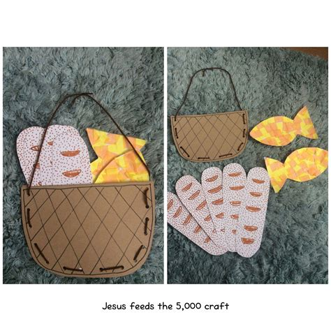 jesus feeds 5000 craft jesus feeds the 5000 craft for age 3 to 9 4773