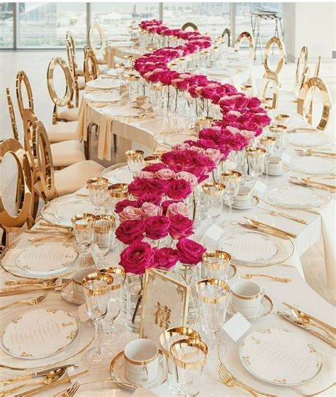 +25 A Simple Tip About Dream Wedding Reception Table
