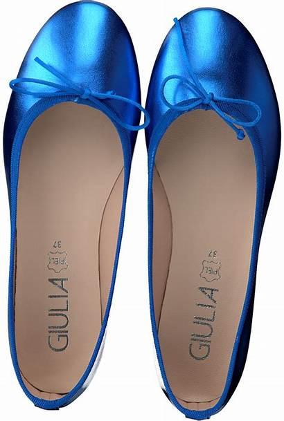 Ballerina Giulia Ballerines Bleu Ballerinas Blauwe Ballet