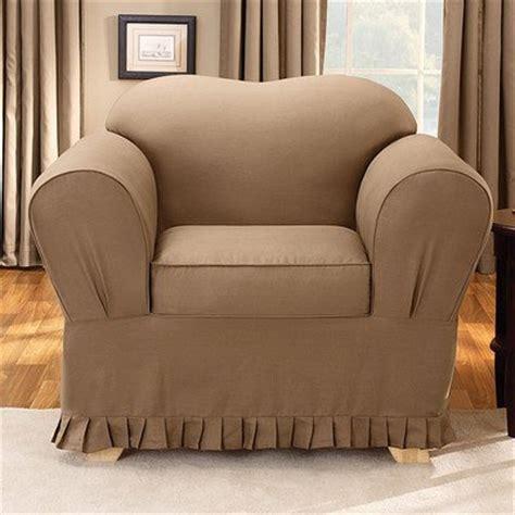 sure fit lexington 1 piece t cushion sofa slipcover blue
