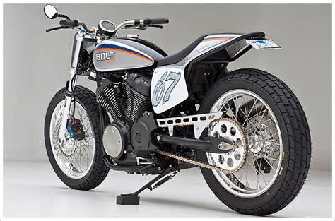 import motocross bikes jpd customs star bolt dirt tracker looks great autoevolution