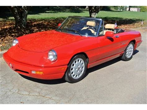 1991 Alfa Romeo Spider For Sale by 1991 Alfa Romeo Spider Veloce For Sale On Classiccars