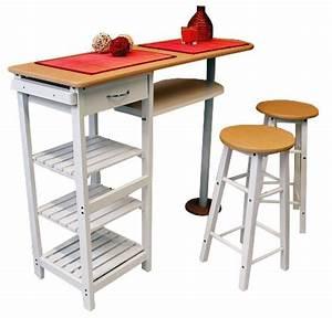 Küchentisch Mit Stühlen : theke k chenbar mit 2 st hlen fr hst ck k chentisch ~ Michelbontemps.com Haus und Dekorationen