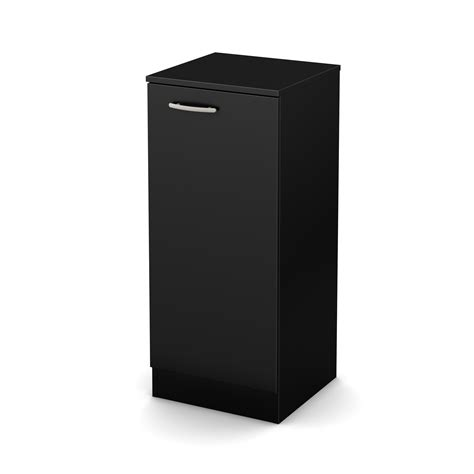South Shore Narrow Storage Cabinet by South Shore Axess Narrow Storage Cabinet Black