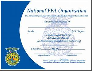 Ffa certificate template 10 best certification images on for Ffa certificate template