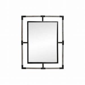 Grand Miroir Industriel : miroir industriel rectangulaire grand miroir ~ Melissatoandfro.com Idées de Décoration