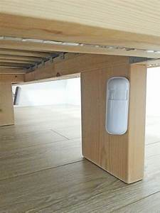 Pied De Lit Lumineux : lit connect lumineux ma maison intelligente ~ Melissatoandfro.com Idées de Décoration