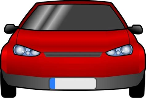 Car Front Clip Art Free Vector In Open Office Drawing Svg