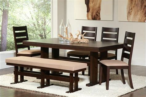 5 dining room set with bench 26 big small dining room sets with bench seating
