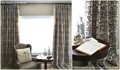 How To Stencil Diy Drop Cloth Curtains Curtains To Go With Red Couch Black And Taupe Shower Yellow Chevron Etsy Curtain Styles Sew Diy Blackout Lining Tracks Brisbane Pink Nursery Uk Bamboo Outdoor