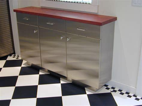 Stainless Steel Cabinets   Brooks Custom