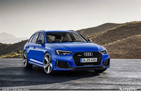 Return Of The Rs Icon The New Audi Rs 4 Avant Audiworld
