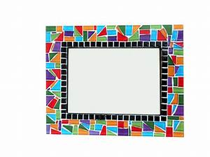 Colorful Mosaic Picture Frame