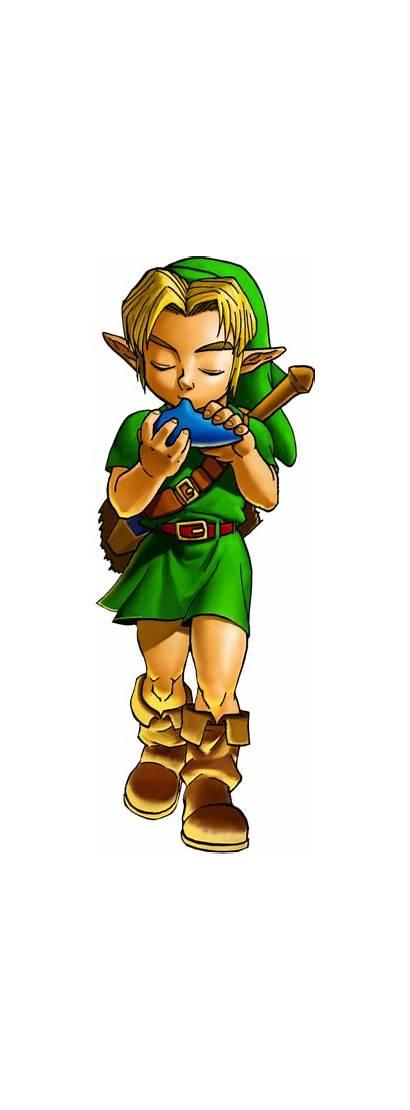 Ocarina Link Zelda Legend Oot Young Musique