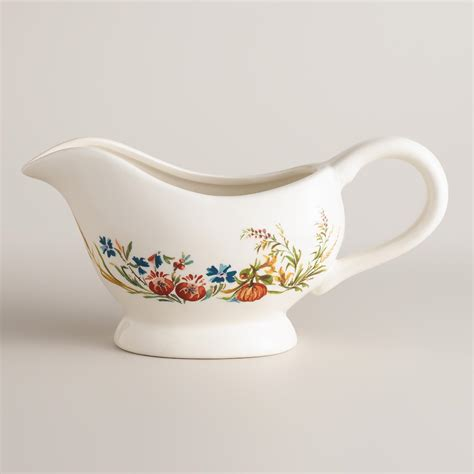 Gravy Boat From by Turkey Gravy Boat World Market