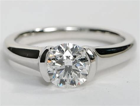 Style Modern Setting by Modern Style Solitaire Engagement Ring With The In