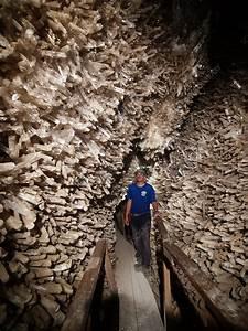 Cave Of Swords  Naica Mine  Mexico - Stock Image E580  0054