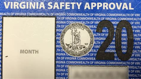 vehicle safety inspection fee      virginia