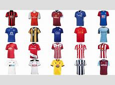 All Premier League 20162017 Released Kit YouTube
