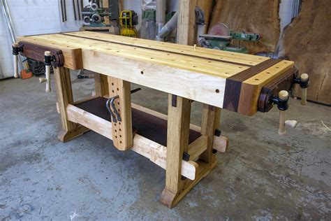 ultimate woodworking workbench walden