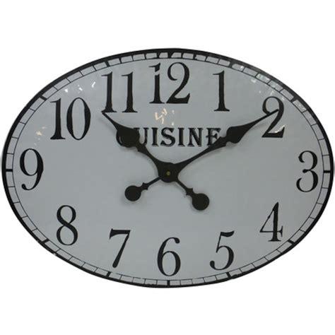 pendule cuisine horloge murale pour cuisine