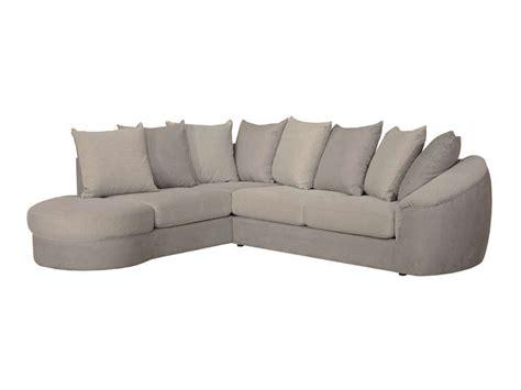 canapé d angle 200 euros canapé d 39 angle fixe gauche 5 places en tissu boreal